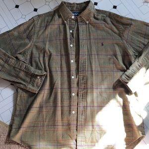 Ralph Lauren Casual Button Down Flannel Shirt